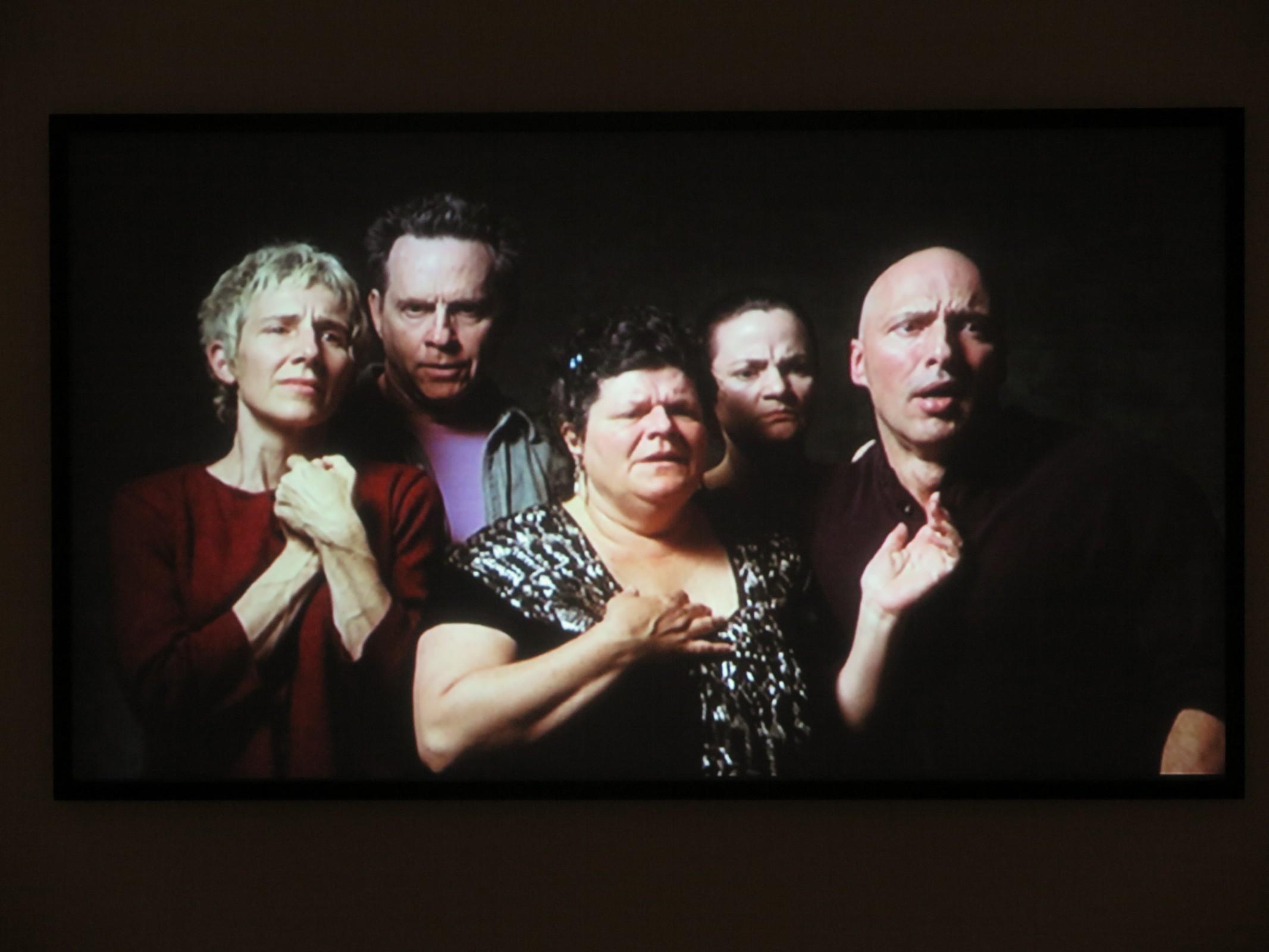 Bill Viola - The quintet of remembrance (videostil) -