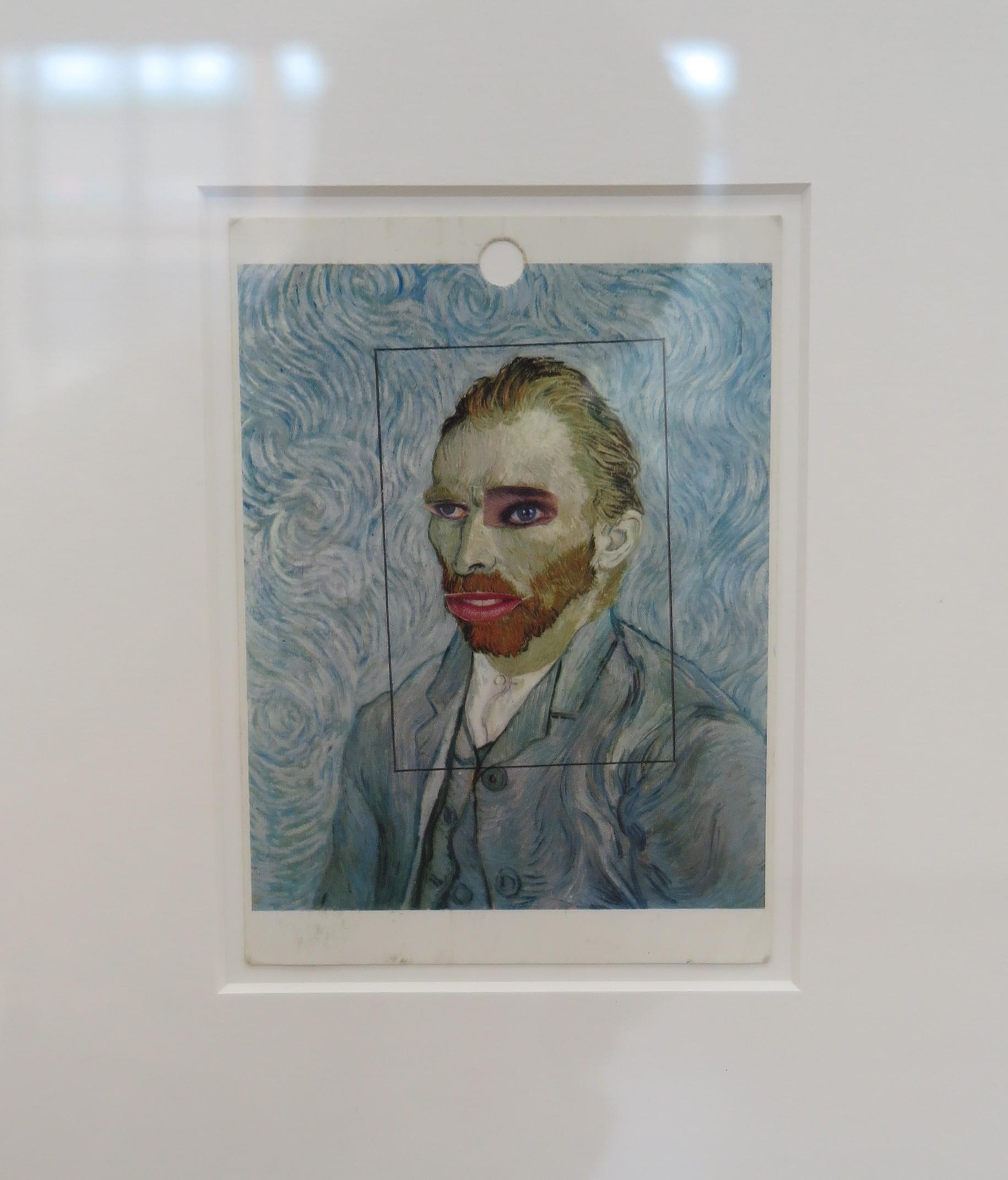Napaku - Collage kaart met afbeelding van van Gogh