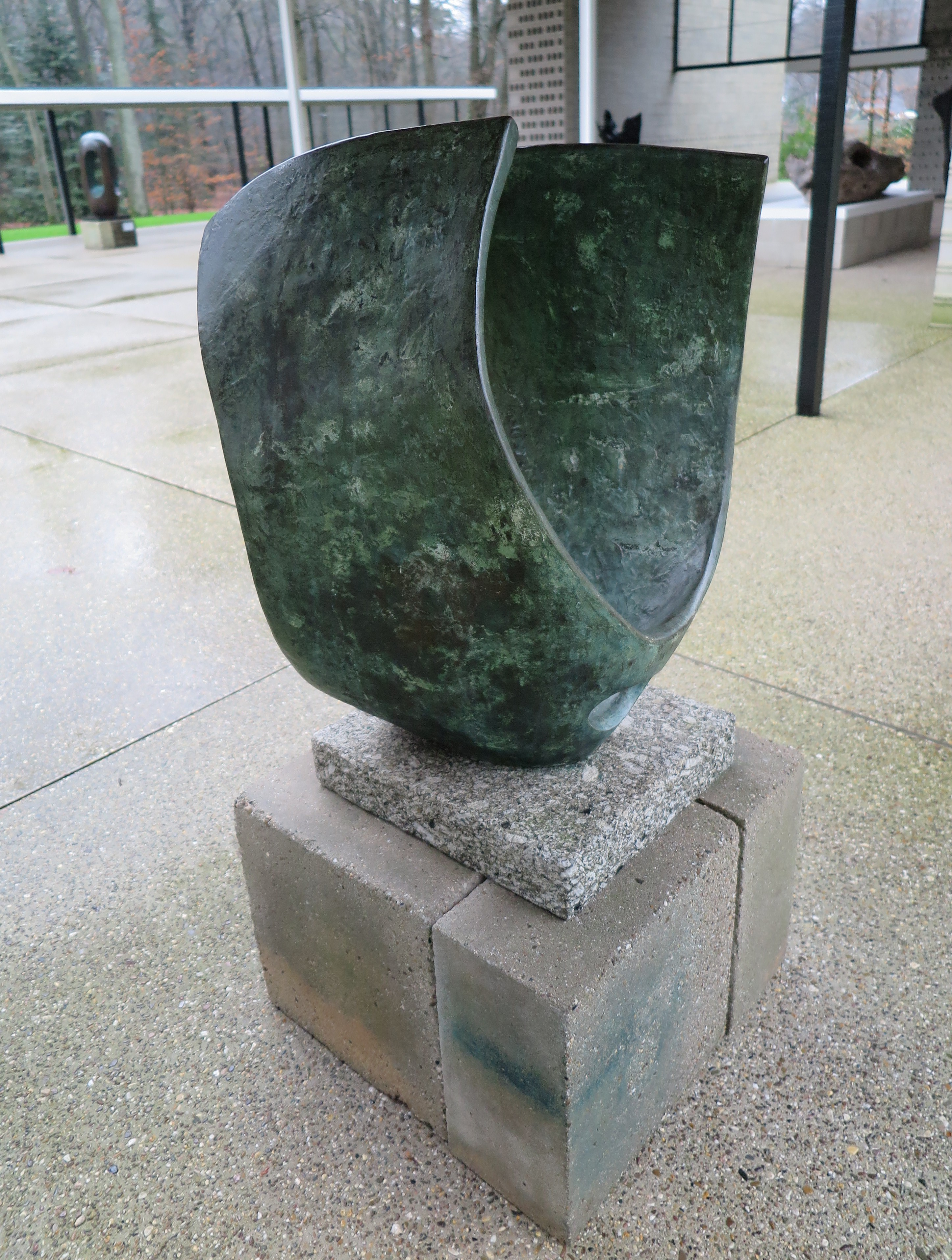 Curved form, 1956