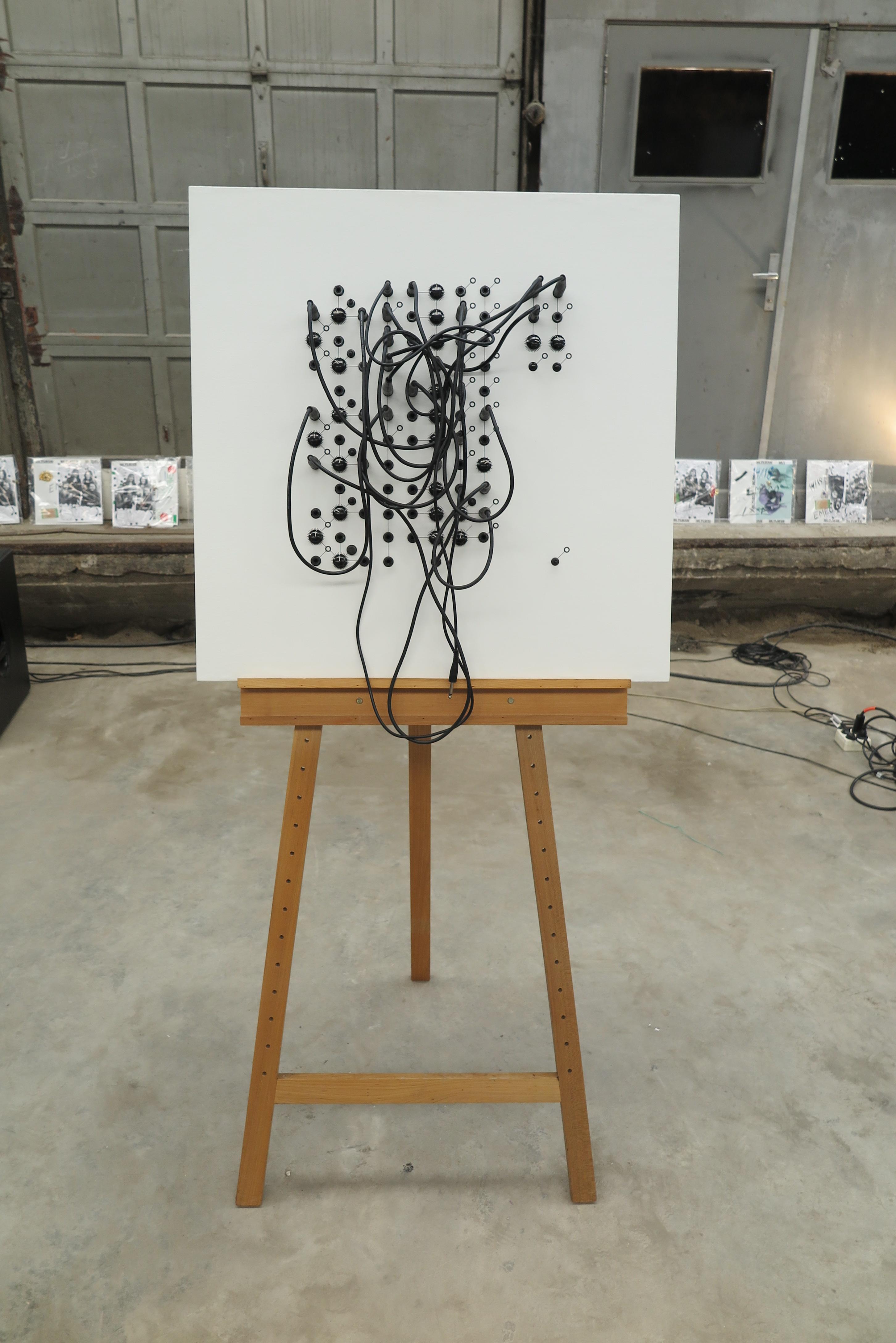 Tom Verbruggen - Crackle Canvas