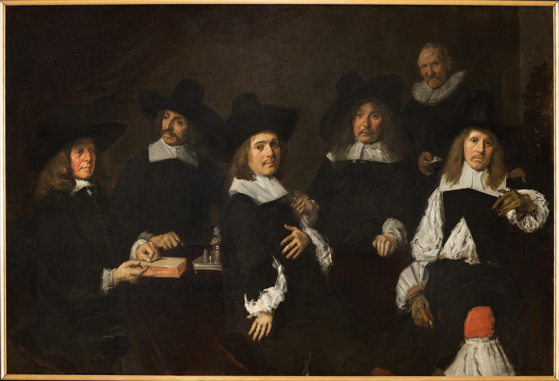 Regenten van het Oudemannenhuis, Frans Hals, c. 1664