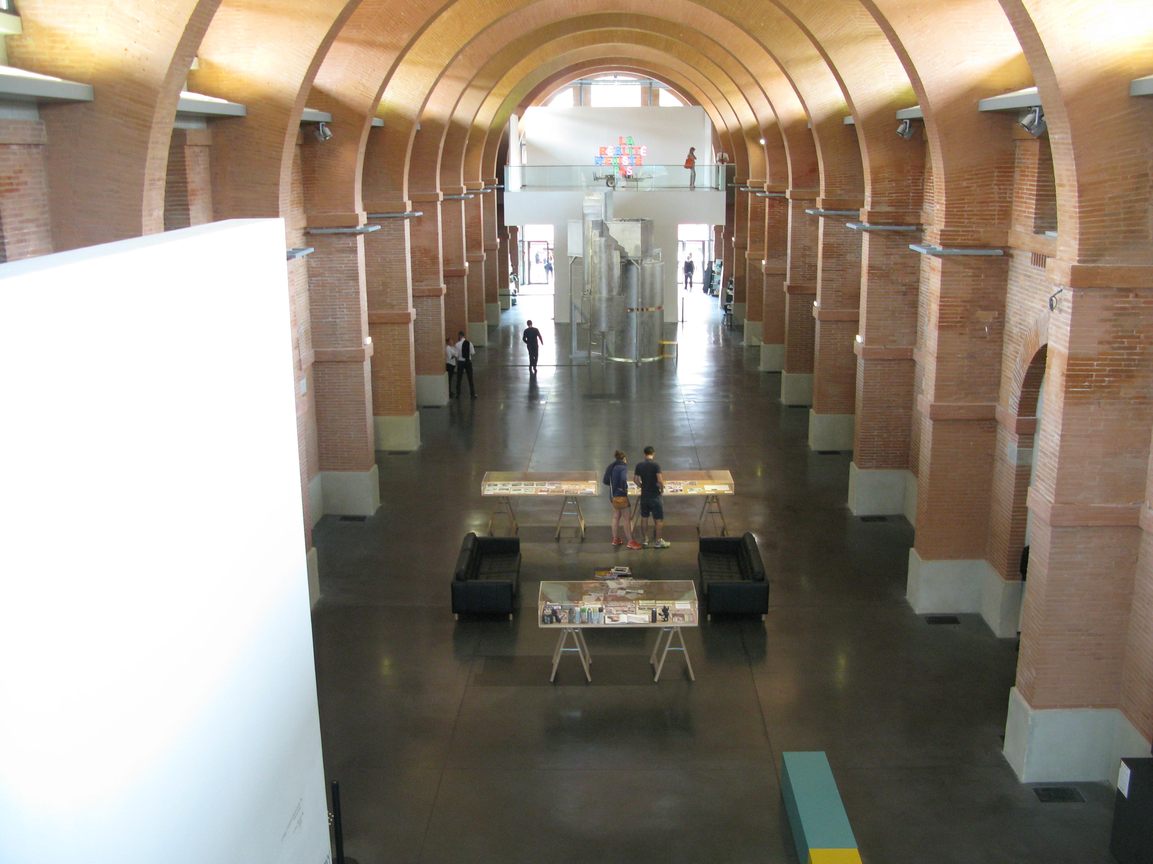 Centrale Hal van Les Abattiors
