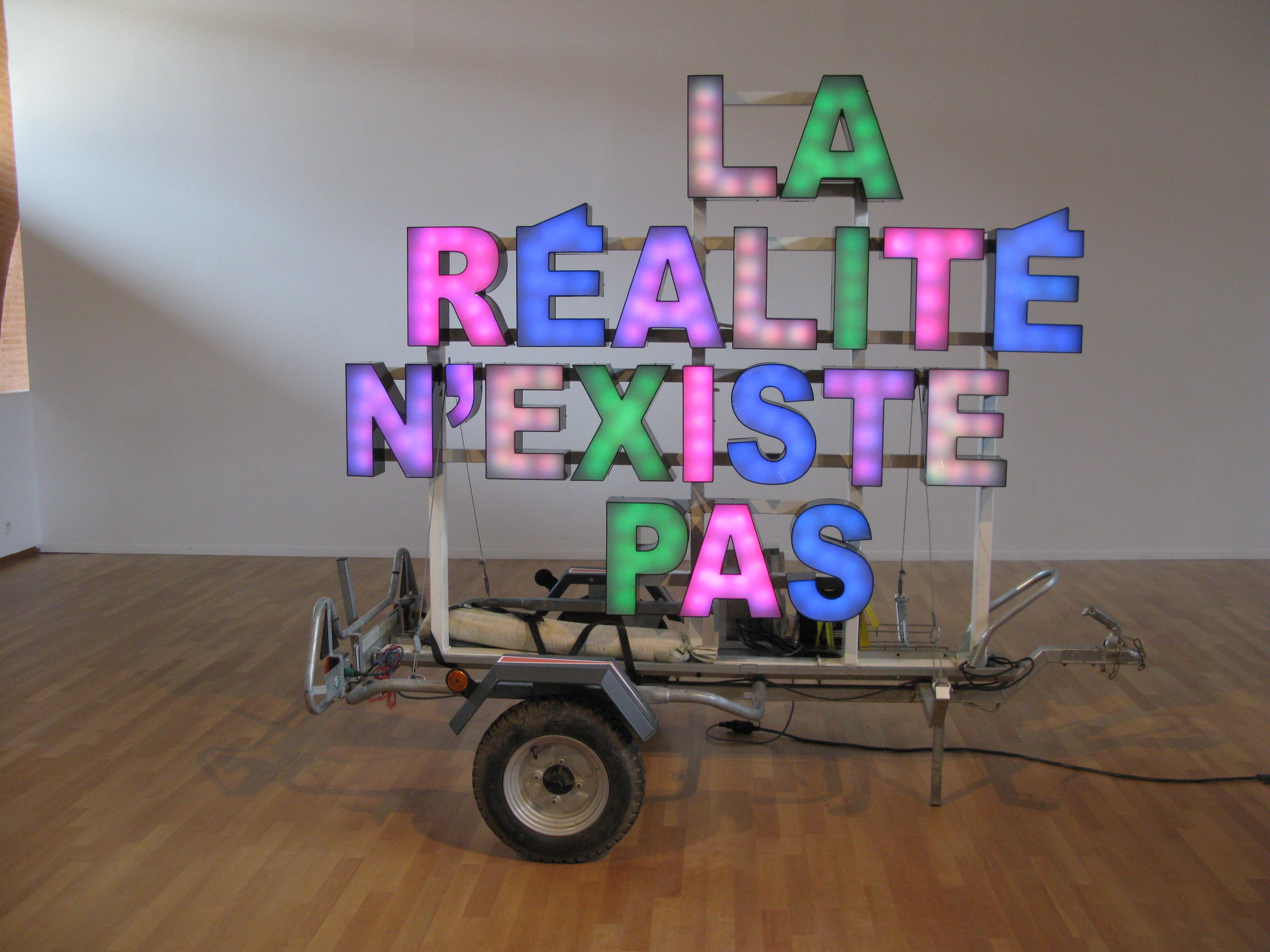 La realite n'existe pas - ALP Le Collectif - 2005