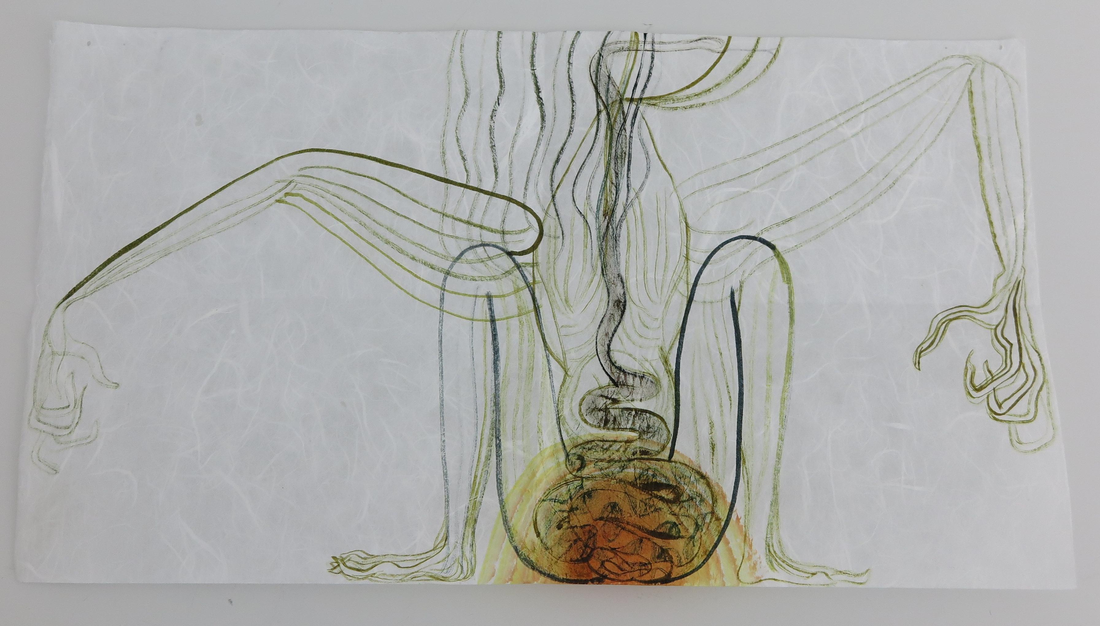 Elma-talbot_woman-snake-bird_galerie-onrust_4